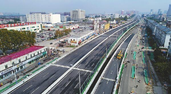济南工业北路快速路