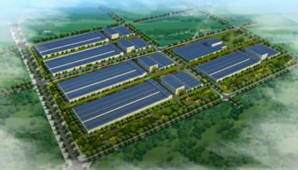 淄川区建陶产业创新示范园标准化厂房